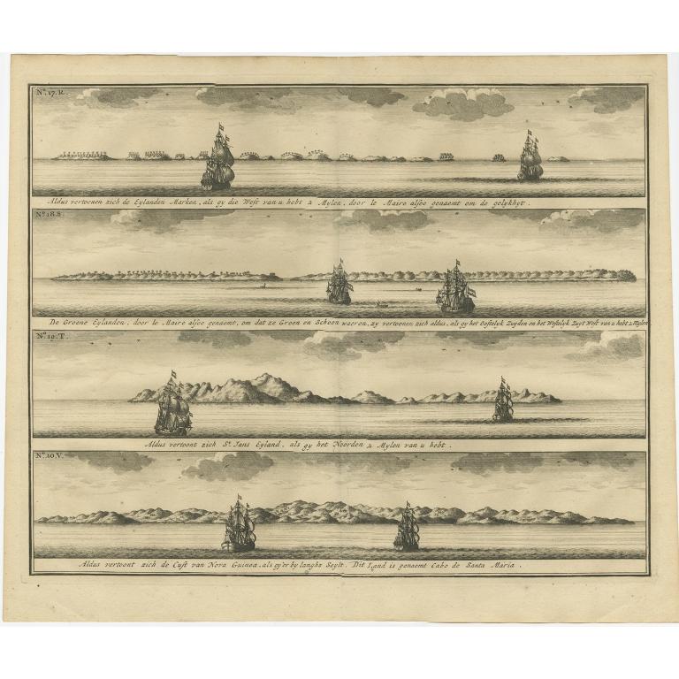 Aldus vertoonen zich de Eylanden Marken (..) - Valentijn (1726)
