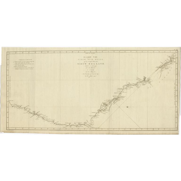 Kaart van Nieuw Zuid Wales (..) - Cook (1803)