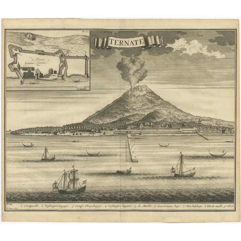Ternate - Valentijn (1726)