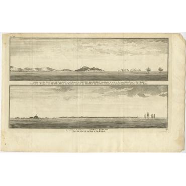 Gezigt van den Berg van Petaplan - Anson (1765)
