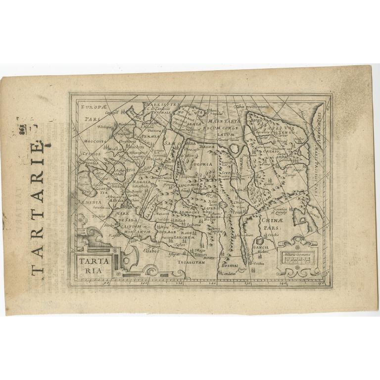 Tartaria - Janssonius (c.1640)