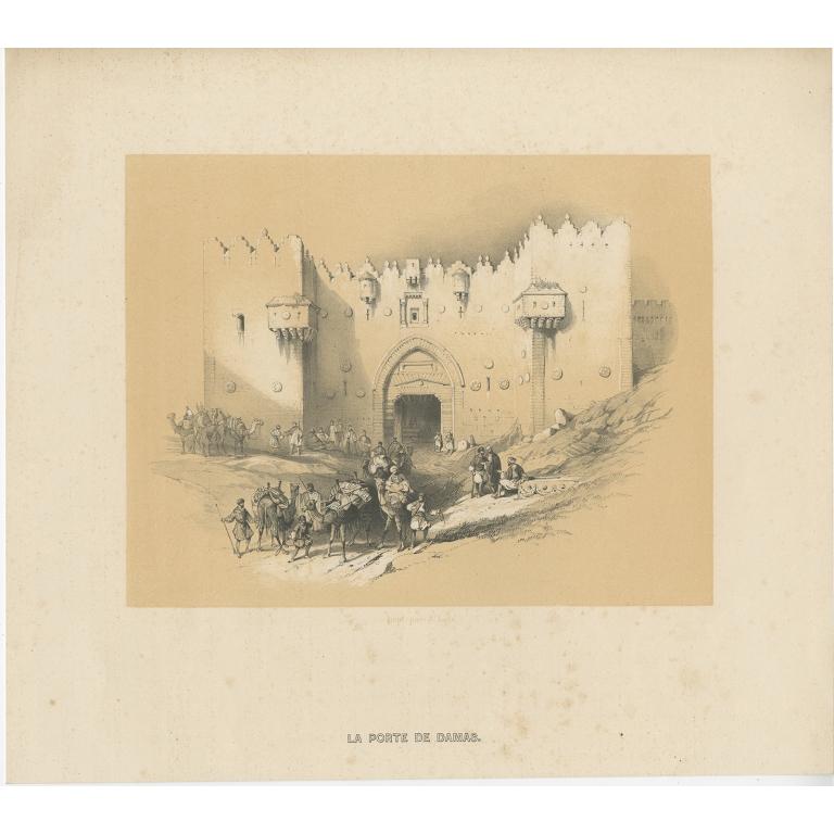 La Porte de Damas - Anonymous (c.1845)