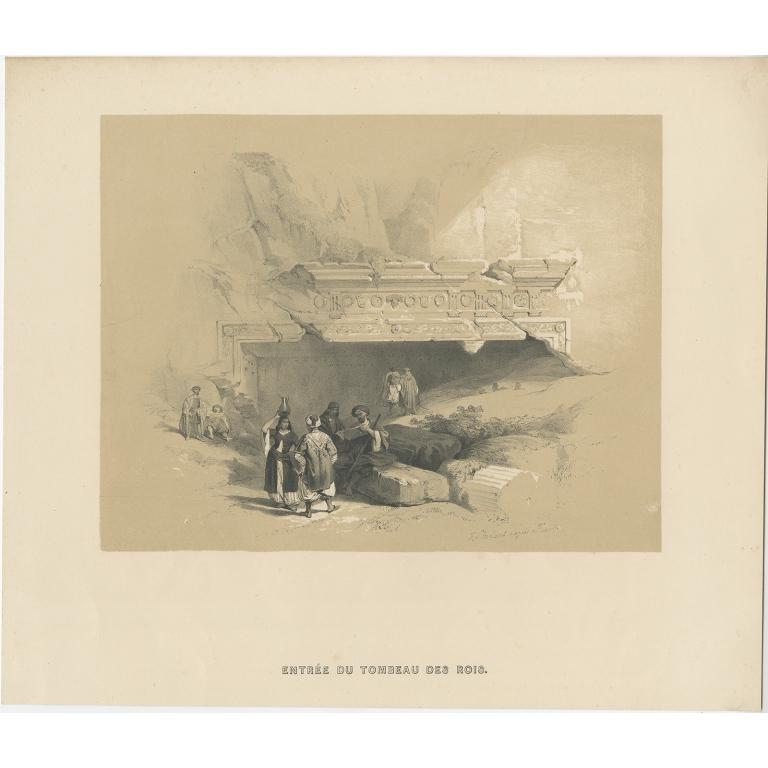 Entrée du Tombeau des Rois - Anonymous (c.1845)
