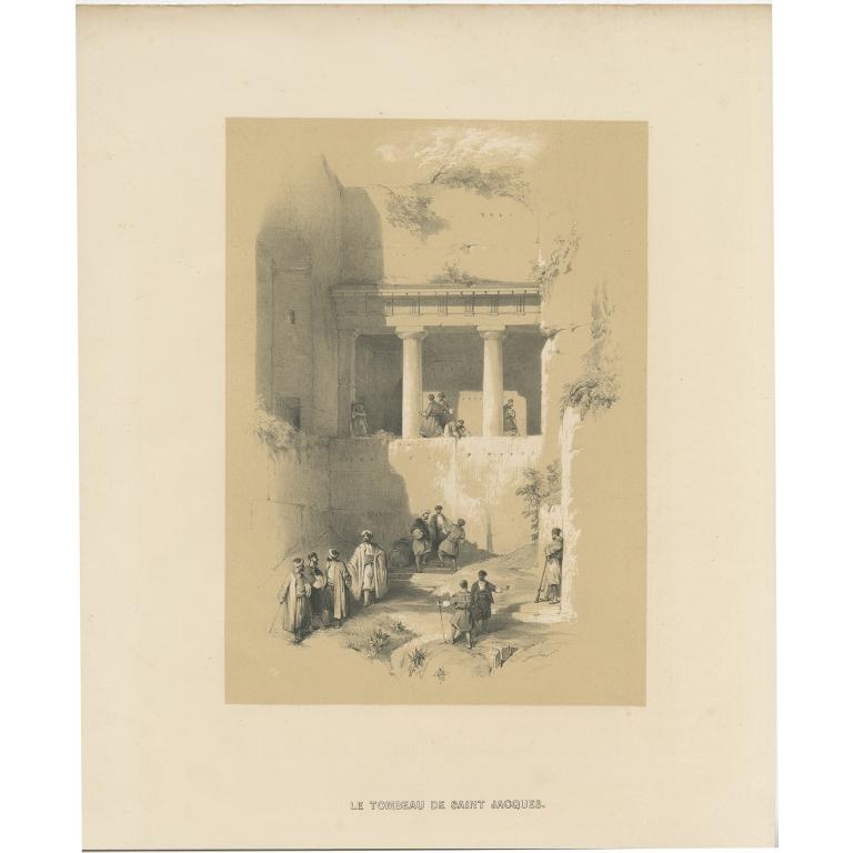 Le Tombeau de Saint Jacques - Anonymous (c.1845)