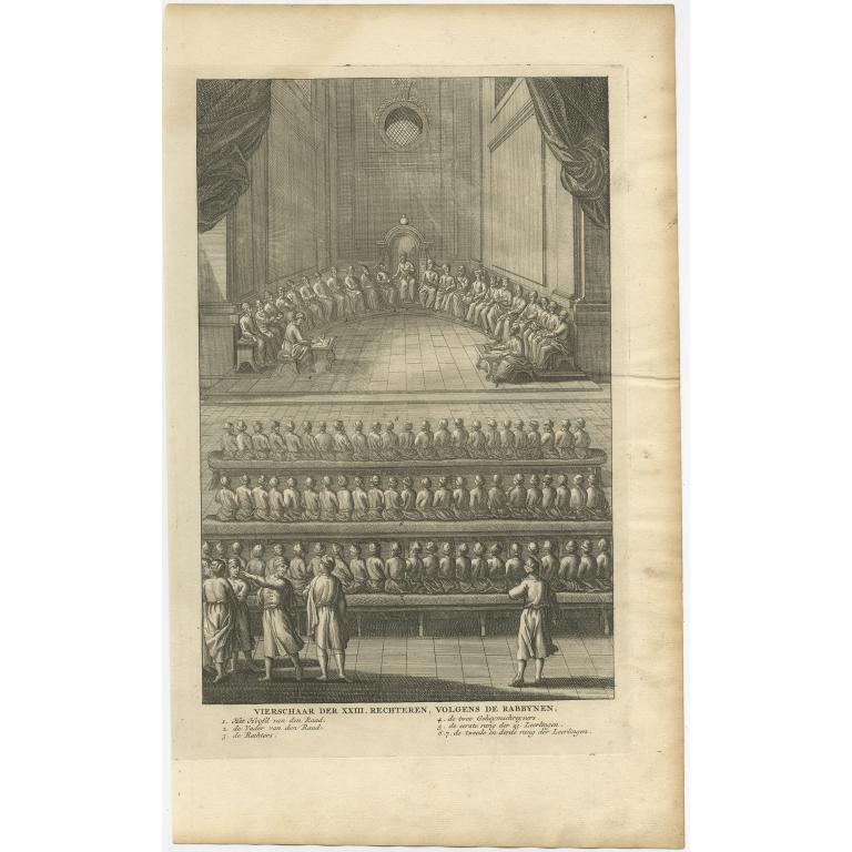 Vierschaar der XXIII Rechteren (..) - Calmet (1725)
