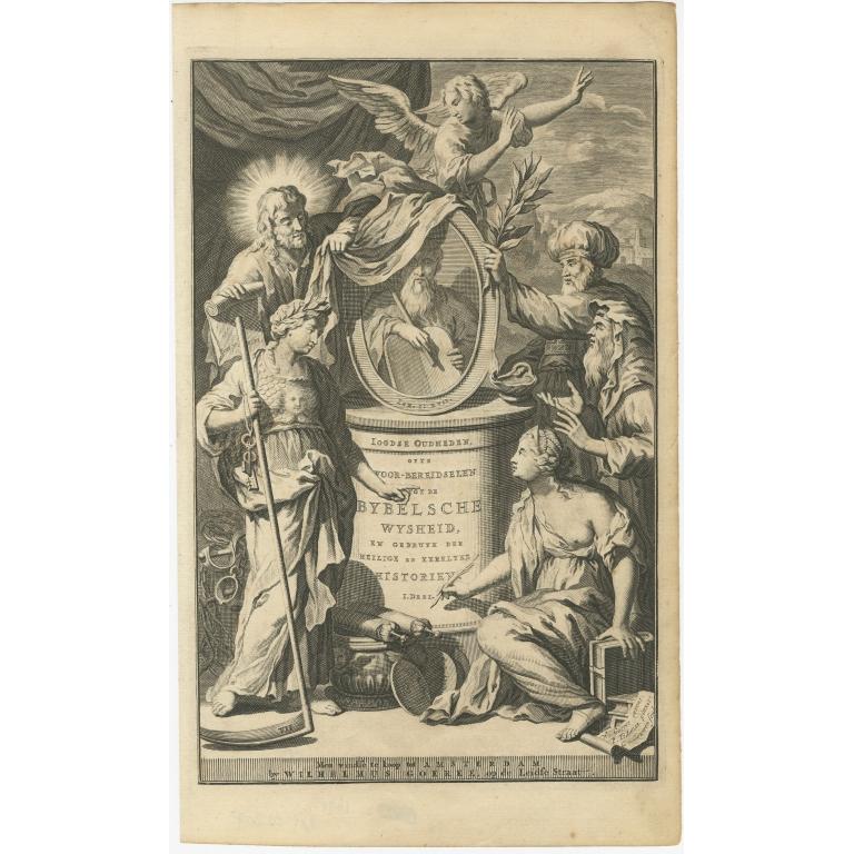 Ioodsche Oudheden ofte voor-bereidselen tot de Bybelsche Wysheid - Goeree (1700)