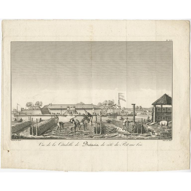 Vue de la Citadelle de Batavia (..) - Bertrand (1810)