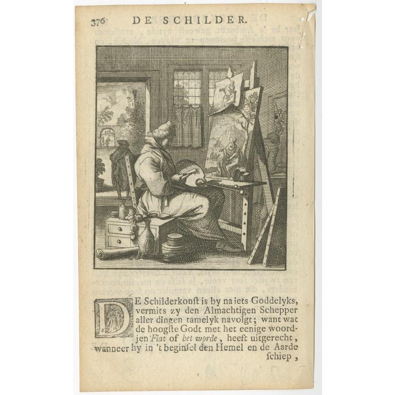 P. 376 De Schilder - St. Clara (1717)