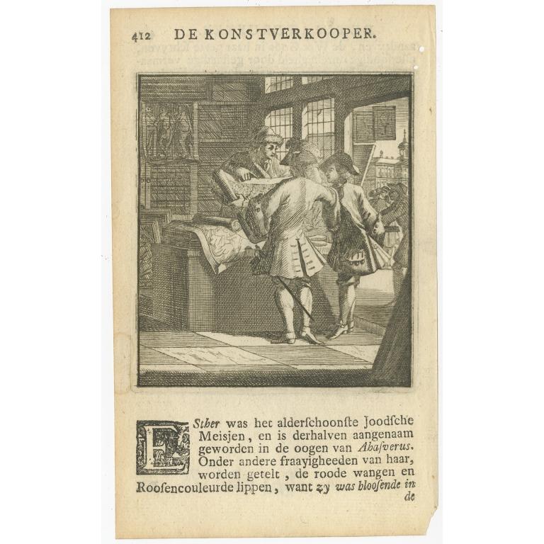 P. 412 De Konstverkooper - St. Clara (1717)
