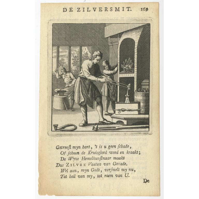 P. 169 De Zilversmit - St. Clara (1758)