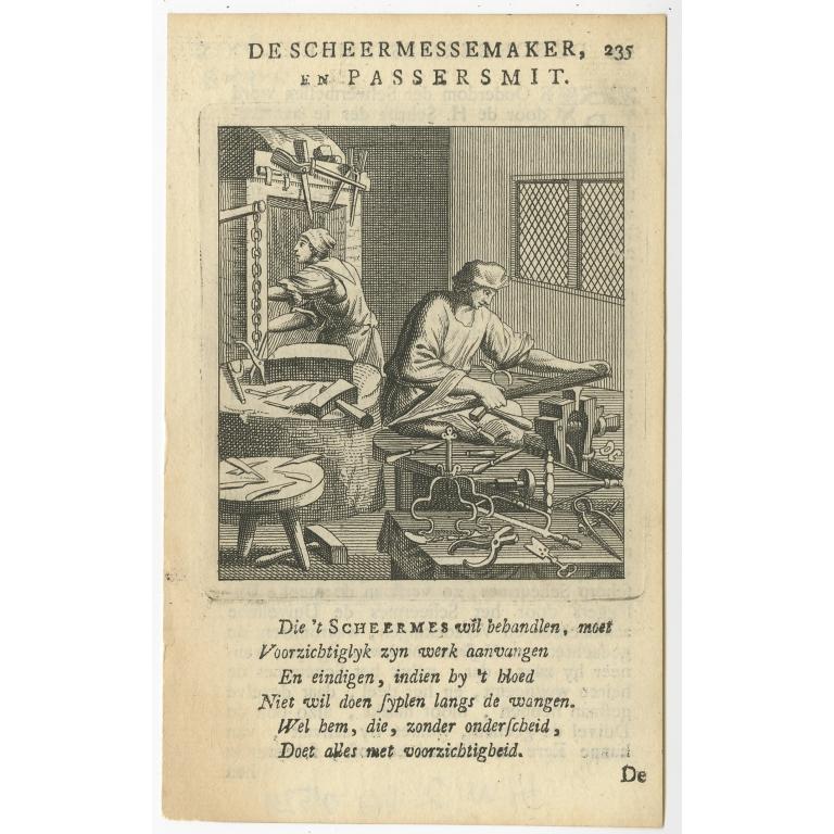 P. 235 De Scheermessemaker - St. Clara (1758)