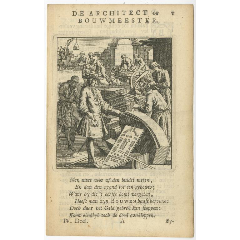 P. 1 De Architect - St. Clara (1758)