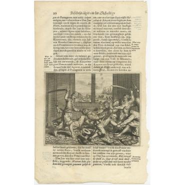 Untitled Print of Sebald de Weert - Baldaeus (1672)