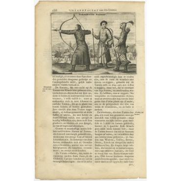 Tartarische Mannen - Nieuhof (1665)