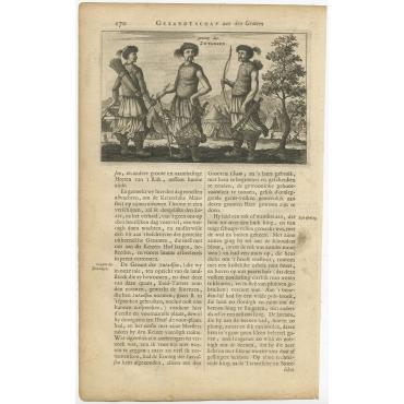 Gezant der Zutadsen - Nieuhof (1665)
