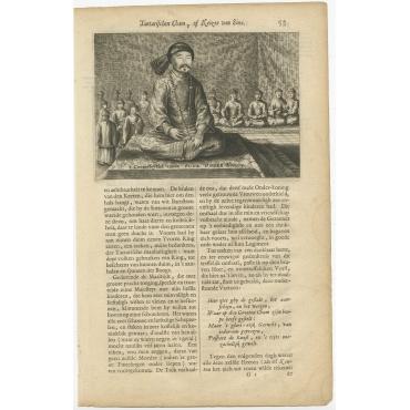 Conterseytsel vande Oude Onder-Koning - Nieuhof (1665)