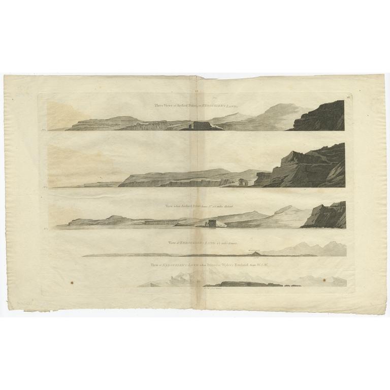Isles de Sir Charles Saunder Latitude (..) - Cook (c.1774)