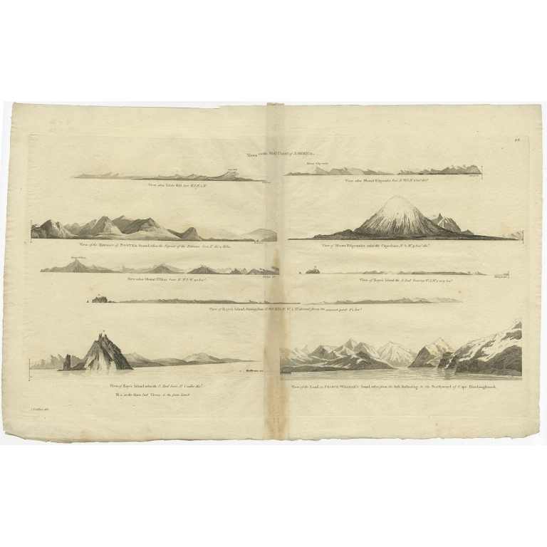 Views on the West Coast of America (..) - Cook (c.1784)