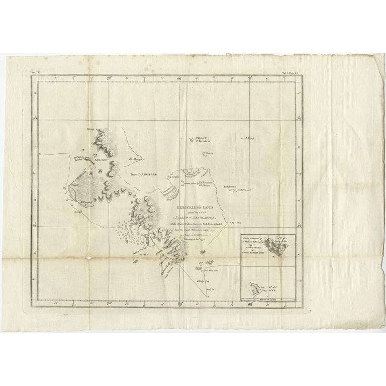 Kerguelen's Land (..) - Cook (c.1783)