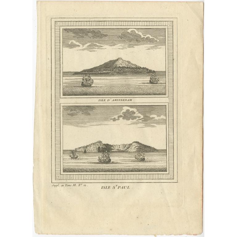 Isle d'Amsterdam - Bellin (1753)
