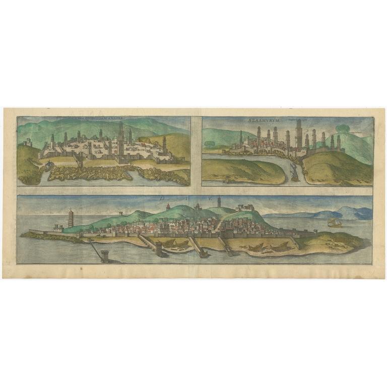 Anfa, Quibusdam Anaffa (..) - Braun & Hogenberg (1574)