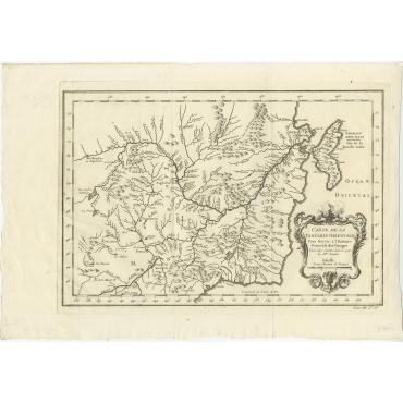 Carte De La Tartarie Orientale (..) - Bellin (1754)