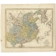 China, contains 15 Subject Provinces (..) - WIlkinson (1803)