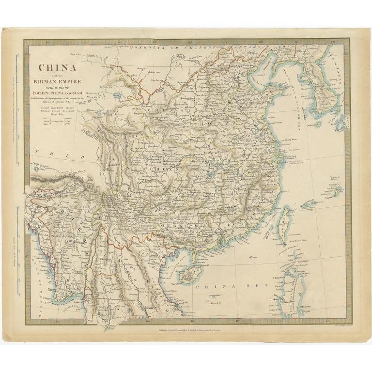 China and the Birman Empire (..) - Walker (1834)