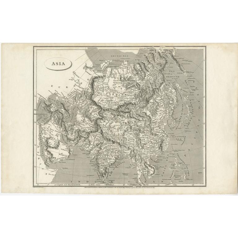 Asia - Arrowsmith (1806)