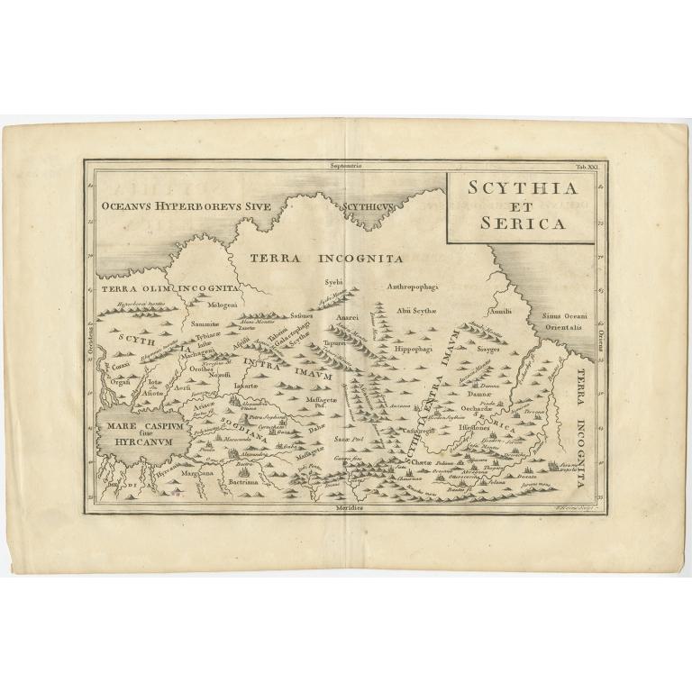 Scythia et Serica - Toms (1799)
