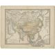 Asien Politische Ubersicht - Stieler (1862)