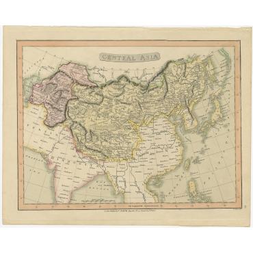 Central Asia - Smith (1808)