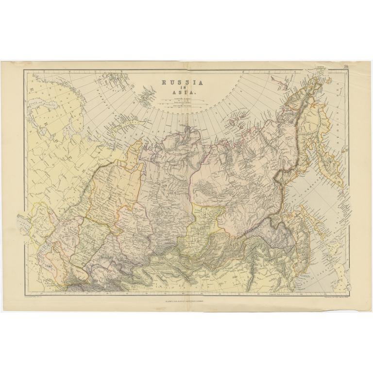 Russia in Asia - Weller (1882)
