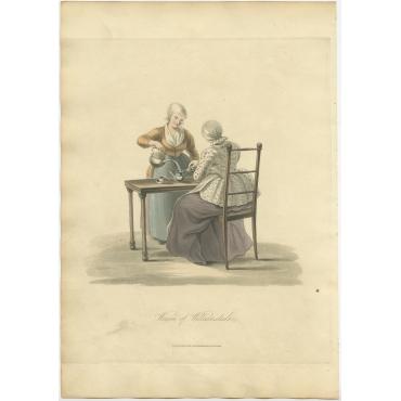 Women of Willemstadt - Ackermann (1817)