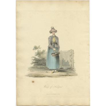 Woman of Hinlopen - Ackermann (1817)