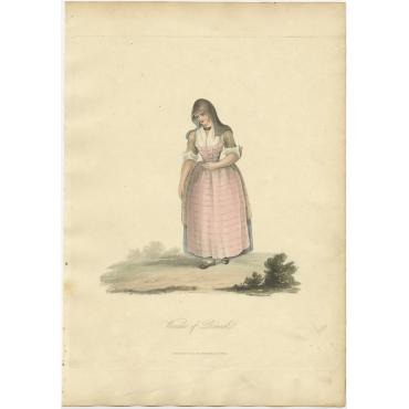 Woman of Broeck - Ackermann (1817)