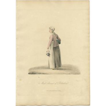 Maid Servant of Rotterdam - Ackermann (1817)