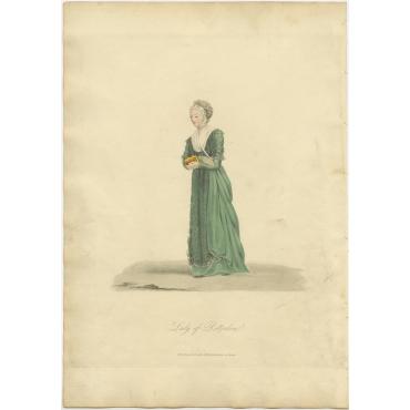 Lady of Rotterdam - Ackermann (1817)
