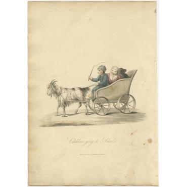 Children going to School - Ackermann (1817)
