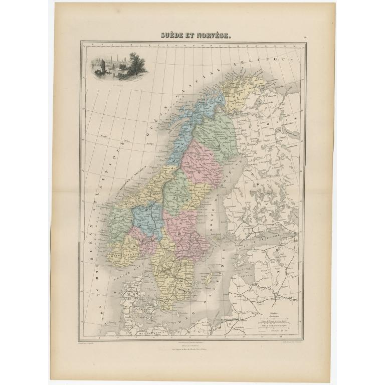 Suède et Norvége - Migeon (1880)