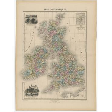 Iles Britanniques - Migeon (1880)