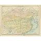 China - Political Map - Bartholomew (1922)