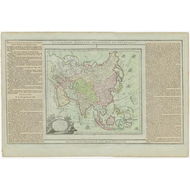L'Asie dressée pour l'Etude (..) - Brion de la Tour (1790)