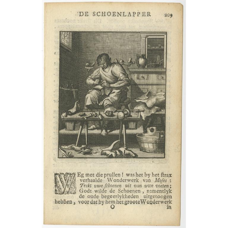 P. 209 De Schoenlapper - St. Clara (1717)
