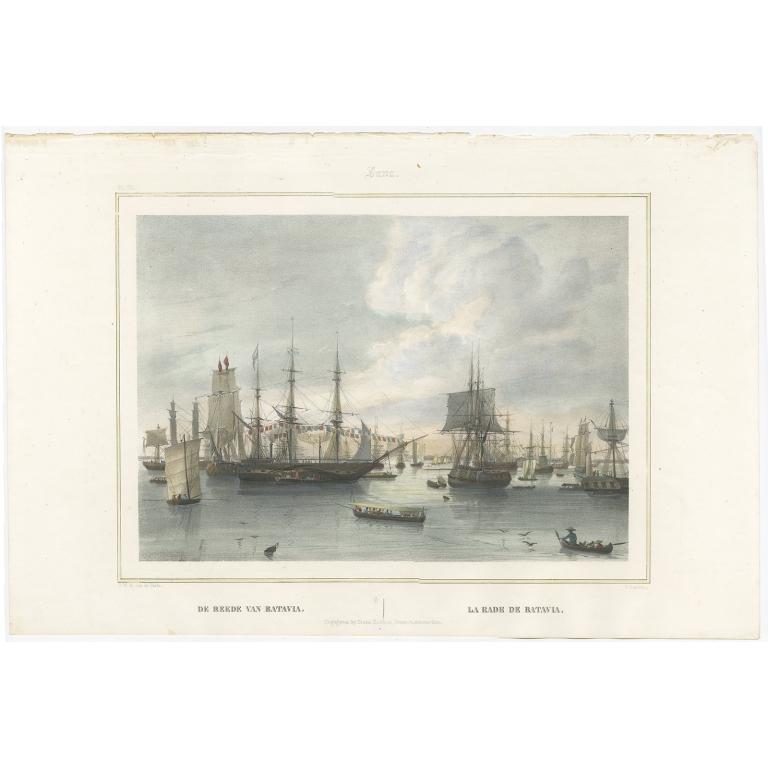 De Reede van Batavia - Lauters (1843)