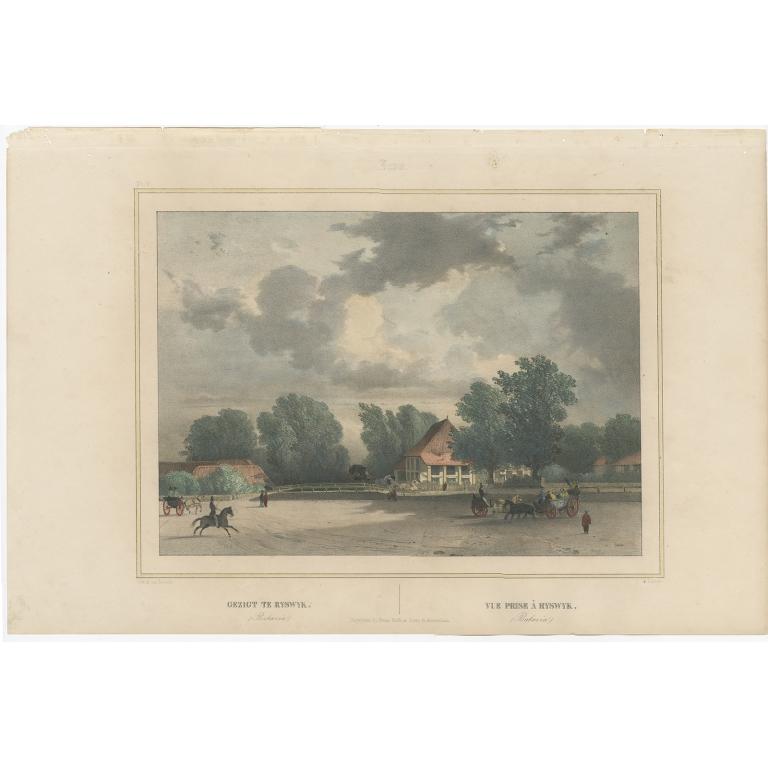 Gezigt te Ryswyk - Lauters (1844)