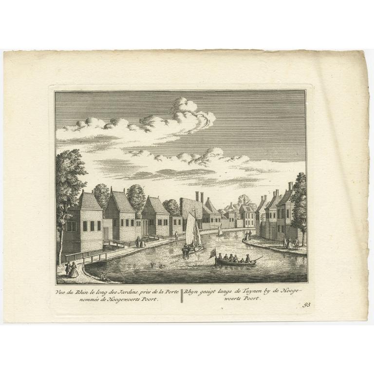 Rhyn gesigt langs de Tuynen (..) -  Anonymous (c.1800)