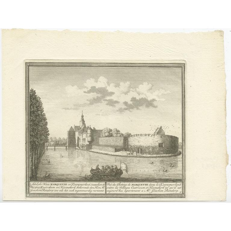 't Adelijke Huis Marquette in Kennemerlant (..) - De Leth (c.1730)