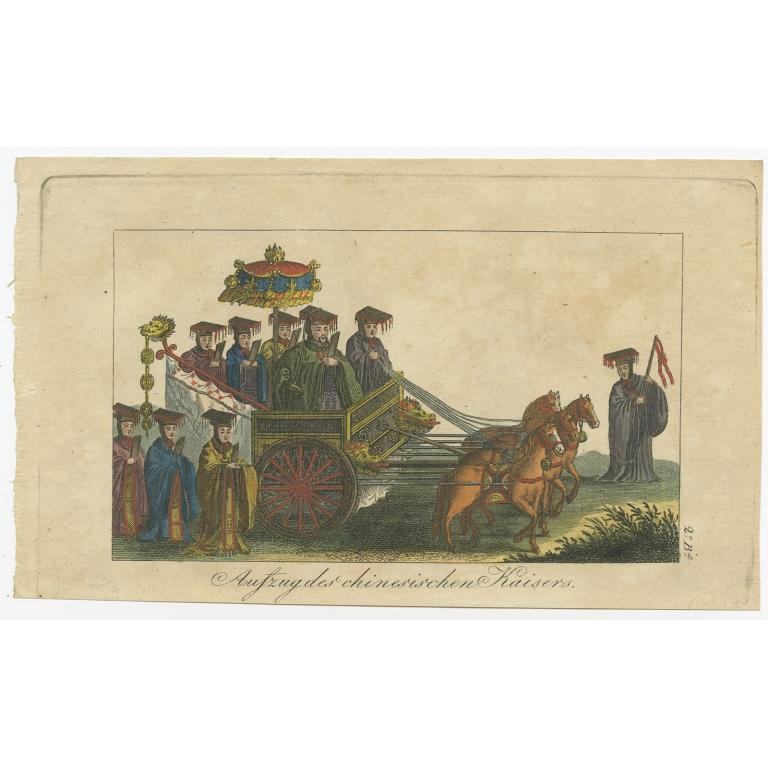 Aufzug des chinesischen Kaisers - Anonymous (c.1800)