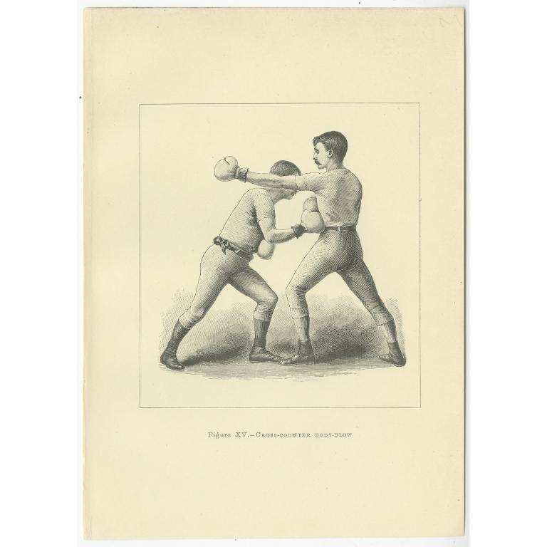 Figure XV - Cross-Counter Body-Blow - Pollock (1889)